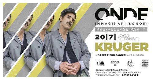 Lorenzo Kruger e Omero / solo piano / Onde Festival pre-show