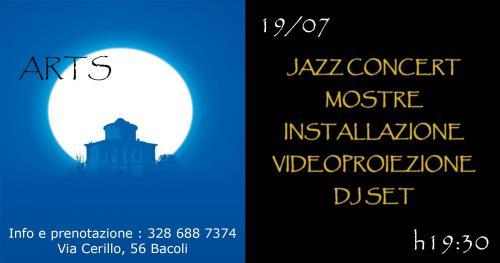Evento Artistico in uno spazio naturale.ConcertoJazz,mostre,installazione,videoproiezione & dj set