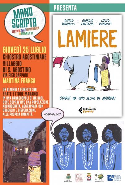 "Manuscripta Presenta:""Lamiere. Storie da Uno Slum di Nairobi"""