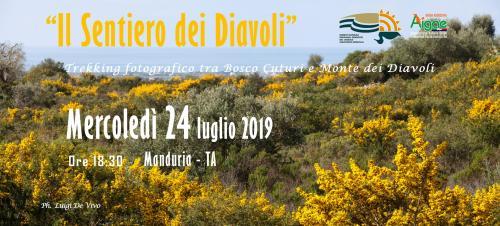 """""""Il Sentiero dei Diavoli"""". Trekking fotografico tra Bosco Cuturi e Monte dei Diavoli"""