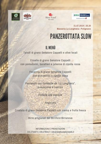 Panzerottata Slow – Chiacchierata sulla Biodiversità locale con Slow Food
