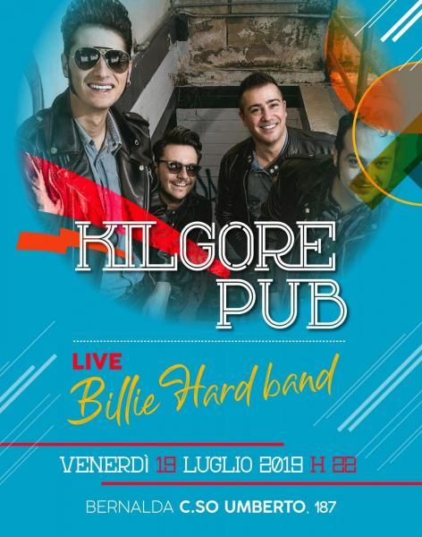 Billie Hard Rock'n'roll band live @ Kilgore Pub