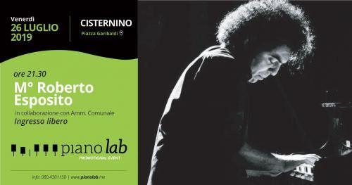 M°Roberto Esposito in concerto | Piano Lab 2019- Promotional Event