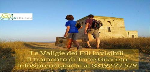 Le Valigie dei Fili Invisibili - Il tramonto di Torre Guaceto