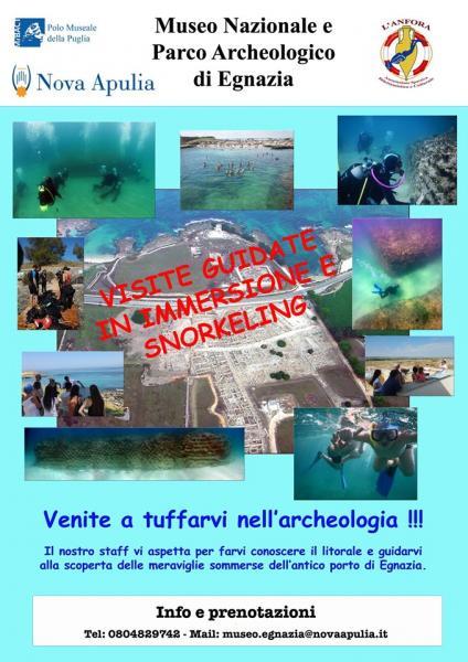 Snorkeling ed immersioni ad Egnazia