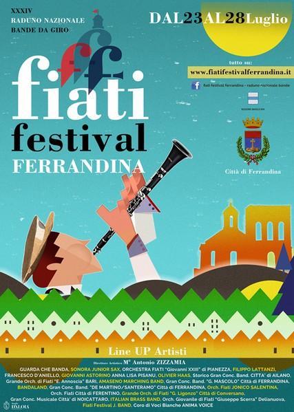 Fiati Festival Ferrandina- 34° Raduno bandistico nazionale