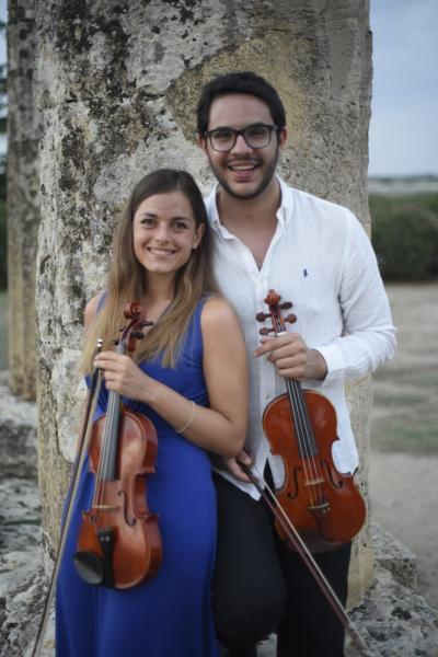 Il DUO OCTO CORDAE conclude  la  11.ma Edizione di MusicArte    presso il Chiostro  del Palazzo della Marra Appuntamento mercoledì 24 luglio