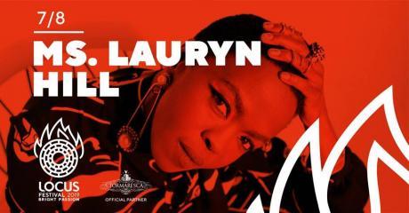 Locus Festival 2019 presenta Ms. Lauryn Hill live concert