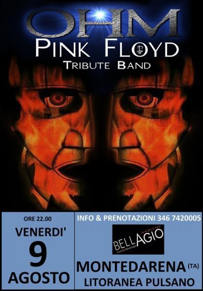 OHM PINK FLOYD LIVE - MARINA DI PULSANO (TA) - BELLAGIO