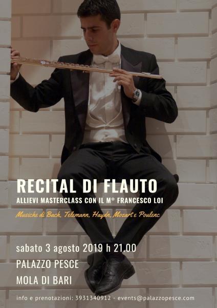 Recital di flauto [Allievi Masterclass con il M° Francesco Loi]