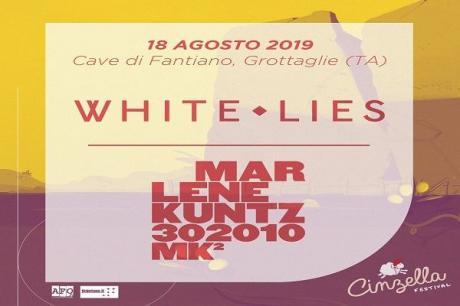 Cinzella Festival 2019 - Day 2 - White Lies + Marlene Kuntz