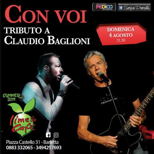Con Voi - tributo a Claudio Baglioni -Barletta