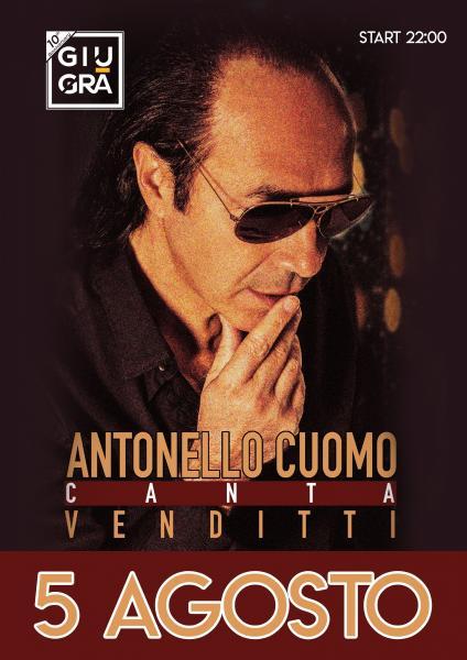 Antonello Cuomo canta Venditti