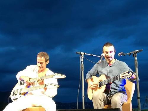 Giulio Capurso & Rocco Papia live concert per la sedicesima rassegna Argojazz