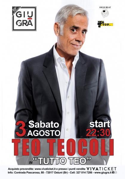 """Tutto Teo è il """"One Man Show"""" di Teocoli"""