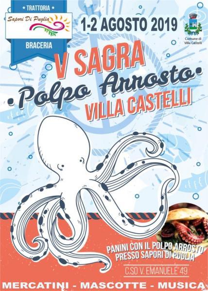 V Sagra del Polpo a Villa Castelli (Br)