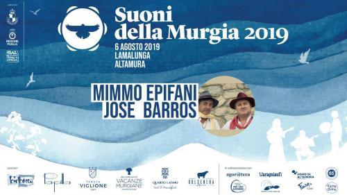 Josè Barros & Mimmo Epifani - Suoni della Murgia 2019