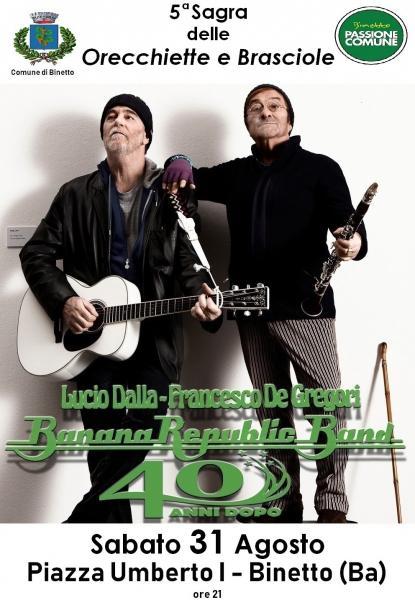 BananaRepublicBand / Omaggio a Lucio Dalla e Francesco De Gregori