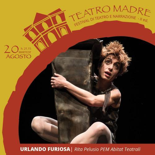 URLANDO FURIOSA con Rita Pelusio | Teatro Madre 2019