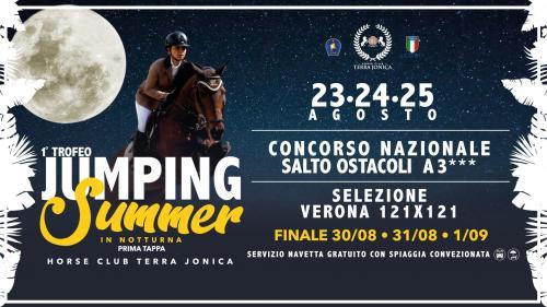 1° Trofeo Jumping Summer Horse Club Terra Jonica