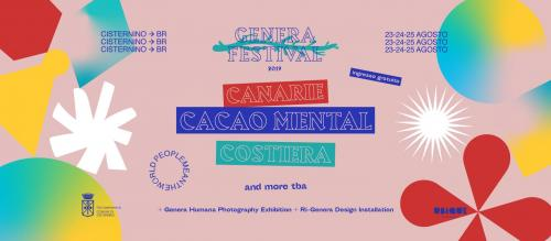 Genera Festival 2019 • People Mean the World