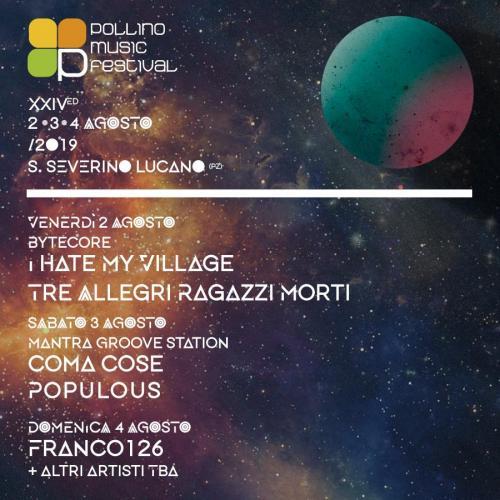 Torna il Pollino Music Festival (24^edizione)