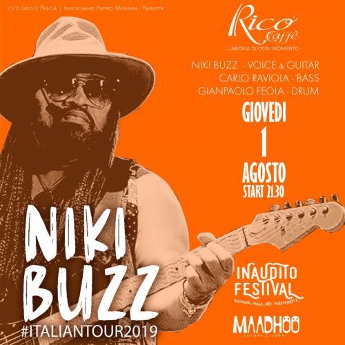 Niki Buzz arriva a Barletta