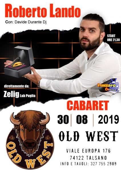 Cabaret con Roberto Lando