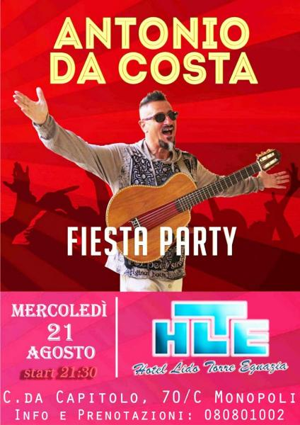 ANTONIO DA COSTA FIESTA PARTY