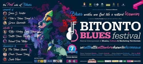 Il Bitonto Blues Festival si veste di rosa
