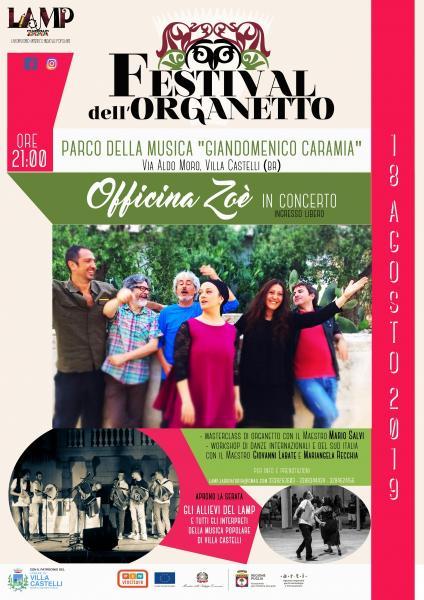 Festival Dell'organetto 2019