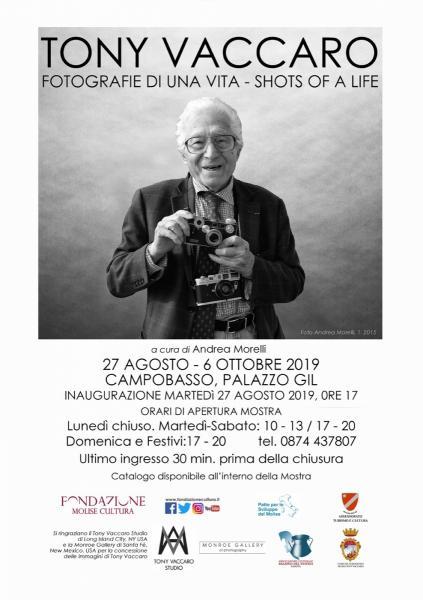 Tony Vaccaro, fotografie di una vita, la mostra a Campobasso