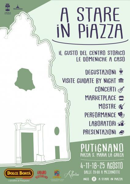 A STARE IN PIAZZA - il gusto del centro storico le domeniche a caso