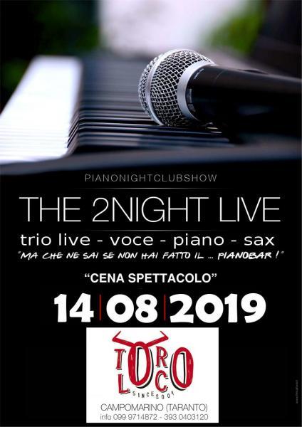 The 2Night Live trio Live