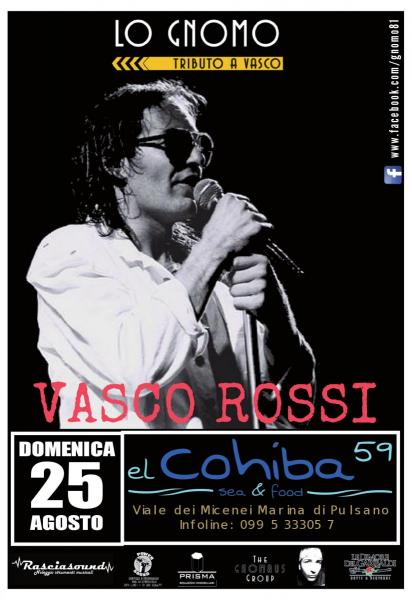 Lo Gnomo Tributo a Vasco Rossi LIVE