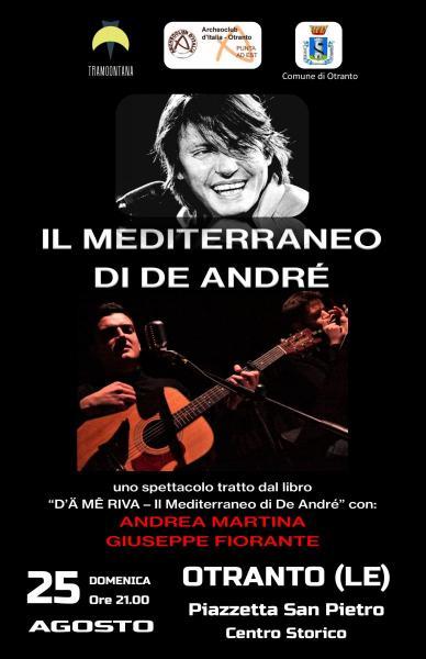 """""""Il Mediterraneo di De André"""" nel Centro Storico di Otranto"""