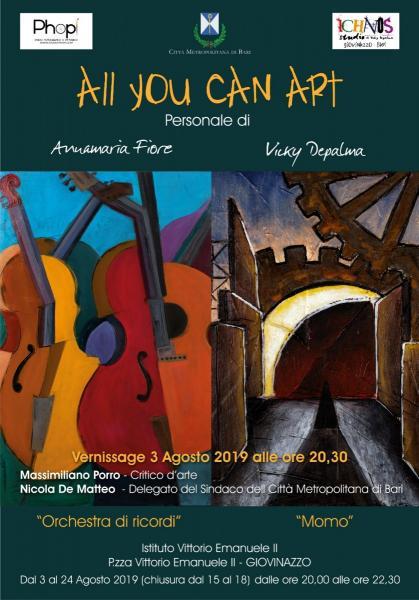 All You Can Art - mostra personale di pittura