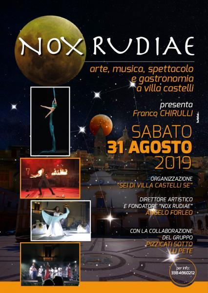 Nox Rudiae(Notte Bianca delle Tradizioni)