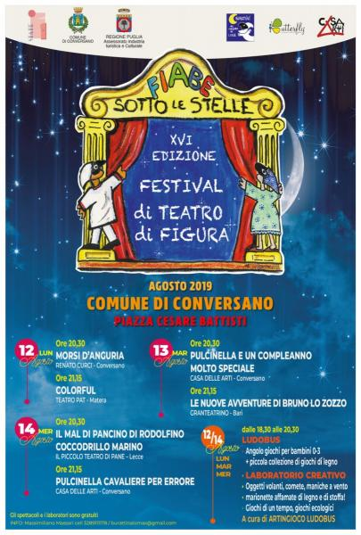 FIABE SOTTO LE STELLE 2019 XVI ed.