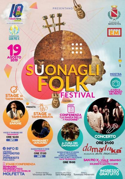 Suonagli Folk Festival II Edizione con i Damadakà