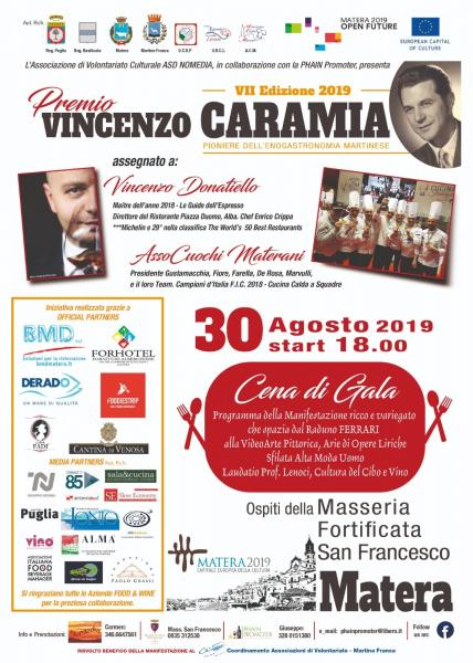 VII  Edizione  Premio  Memory 2019  Vincenzo CARAMIA