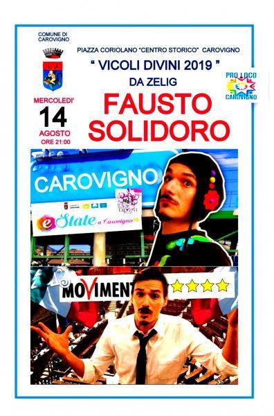 FAUSTO SOLIDORO -  CENTRO STORICO DI CAROVIGNO