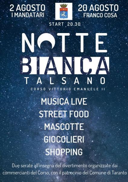 Notte Bianca - Talsano