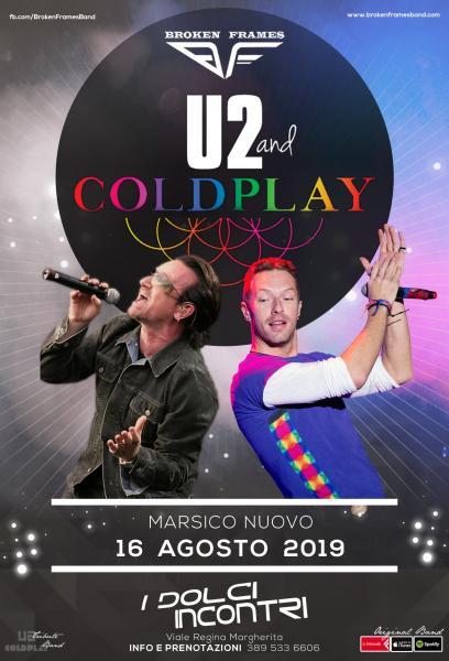 U2 & Coldplay Night by Broken Frames