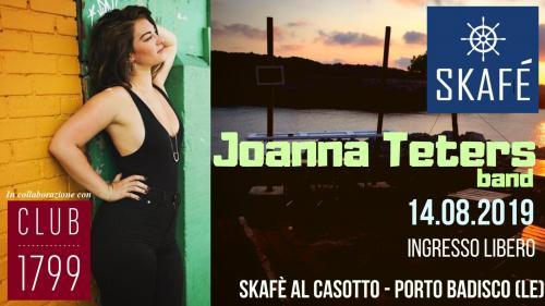 JOANNA TETERS band - SKAFE' AL CASOTTO - PORTO BADISCO (LE)