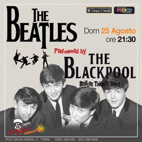 The Blackpool - tribute band The Beatles a Trani