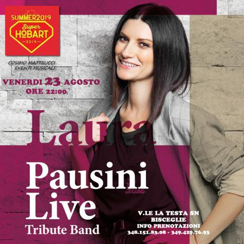 Laura Pausini Live tribute band a Bisceglie