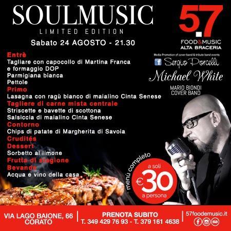 Soulmusic - Michel White - Mario Biondi cover band a Corato
