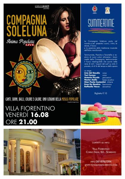 Compagnia Soleluna – Lunanova Tour