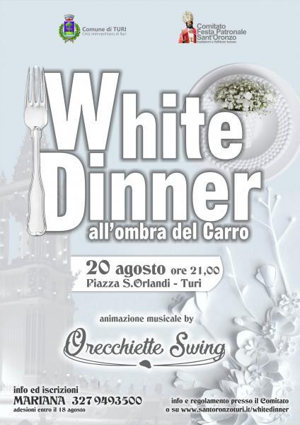 White Dinner - Aspettando Sant'Oronzo